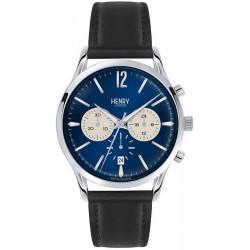 Orologio Uomo Henry London Knightsbridge HL41-CS-0039 Cronografo Quartz