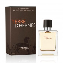 Profumo Uomo Hermès Terre d'Hermès Eau de Toilette EDT Vapo 50 ml