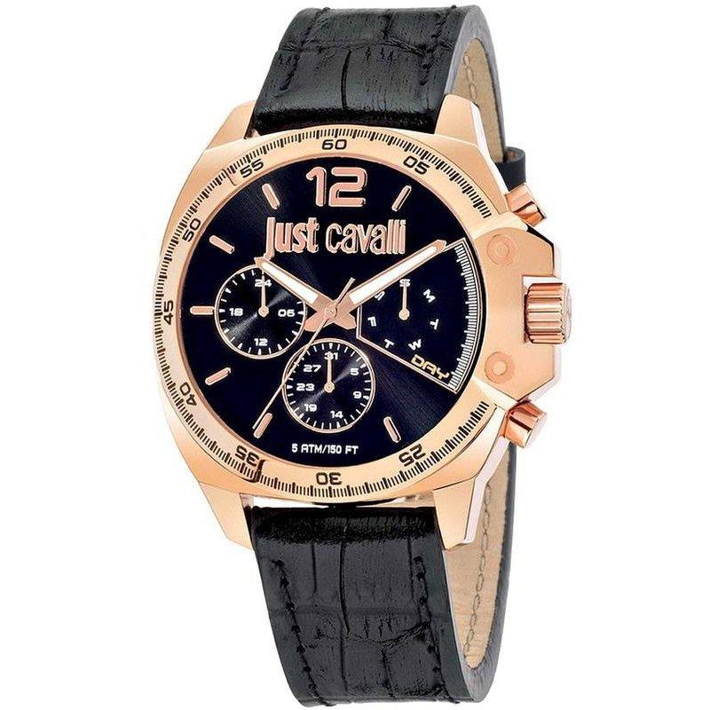 cheap for discount dc92f d0497 Orologio Just Cavalli Uomo Just Escape R7251213001 Cronografo