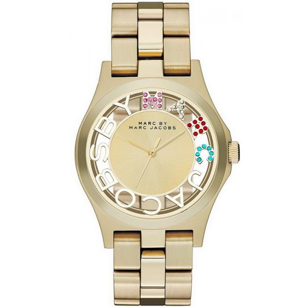 Acquistare Orologio Marc Jacobs Donna Henry Skeleton MBM3263