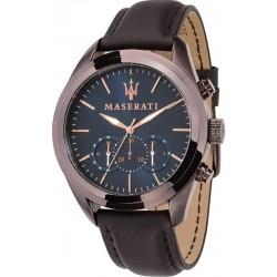 Orologio Maserati Uomo Traguardo R8871612008 Cronografo Quartz