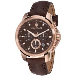 Orologio Maserati Uomo Successo R8871621004 Cronografo Quartz