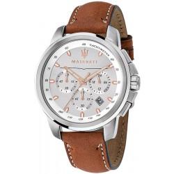 Acquistare Orologio Maserati Uomo Successo R8871621005 Cronografo Quartz
