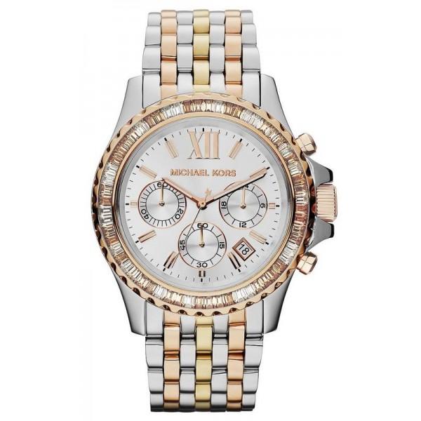 Acquistare Orologio Donna Michael Kors Everest MK5876 Cronografo