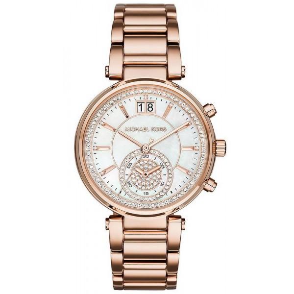 Acquistare Orologio Donna Michael Kors Sawyer MK6282 Cronografo