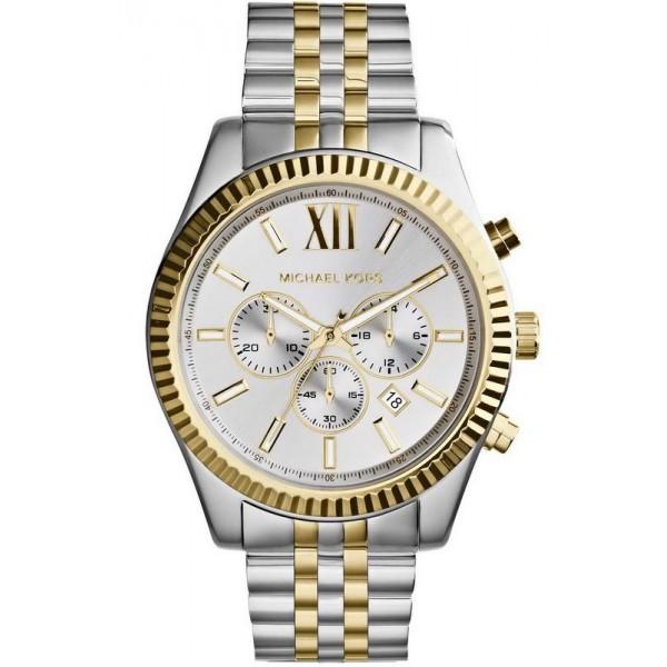 Acquistare Orologio Uomo Michael Kors Lexington MK8344 Cronografo