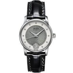Orologio Donna Mido Baroncelli II M0072071603601 Diamanti Automatico