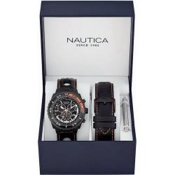 Orologio Uomo Nautica NST 700 Box Set A17636G Cronografo