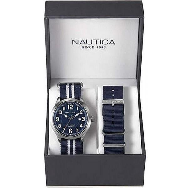 Acquistare Orologio Uomo Nautica NCC 01 Date Box Set NAI11509G
