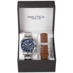 Orologio Uomo Nautica NCC 01 Box Set NAI18509G Cronografo