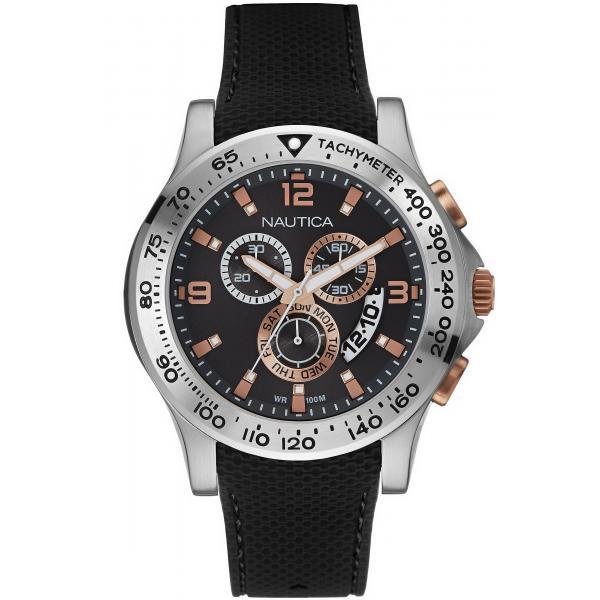 Acquistare Orologio Uomo Nautica NST 600 NAI19504G Cronografo