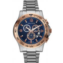 Orologio Uomo Nautica NST 600 NAI22503G Cronografo