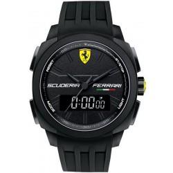 Orologio Uomo Scuderia Ferrari Aerodinamico Chrono 0830122