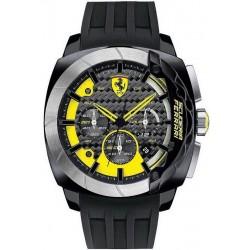 Orologio Uomo Scuderia Ferrari Aerodinamico Chrono 0830206