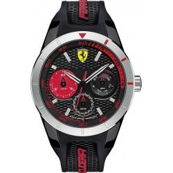 Orologio Uomo Scuderia Ferrari Red Rev T 0830254