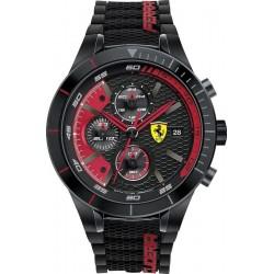 Orologio Uomo Scuderia Ferrari Red Rev Evo Chrono 0830260