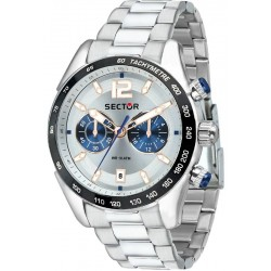 Orologio Uomo Sector 330 R3273794008 Cronografo Quartz