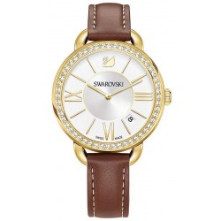 Acquistare Orologio Swarovski Donna Aila Day Brown Yellow Gold Tone 5095940