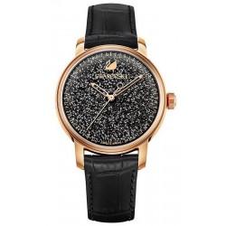 Orologio Swarovski Donna Crystalline Hours Black 5218902 Automatico