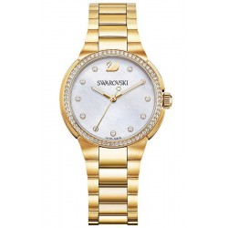 Orologio Swarovski Donna City Mini Yellow Gold Tone 5221172 Madreperla