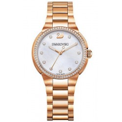 Acquistare Orologio Swarovski Donna City Mini Rose Gold Tone 5221176 Madreperla