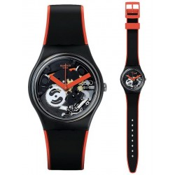 Orologio Unisex Swatch Gent Red Frame GB290