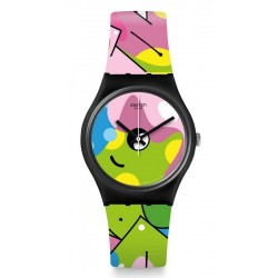 Acquistare Orologio Donna Swatch Gent Image Of Graffiti GB317