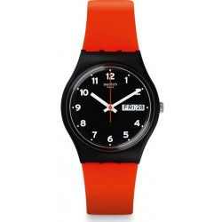 Orologio Unisex Swatch Gent Red Grin GB754
