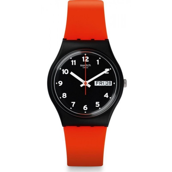 Acquistare Orologio Unisex Swatch Gent Red Grin GB754