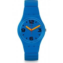Orologio Unisex Swatch Gent Pepeblu S GN251B