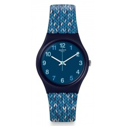 Orologio Donna Swatch Gent Trico'Blue GN259