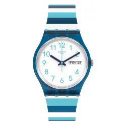 Orologio Unisex Swatch Gent Striped Waves GN728