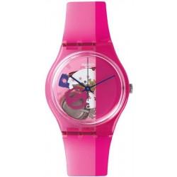 Orologio Unisex Swatch Gent Pinkorama GP145