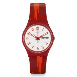 Orologio Donna Swatch Gent Red Flame GR711