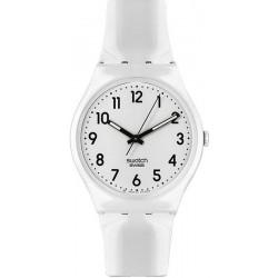 Orologio Unisex Swatch Gent Just White GW151