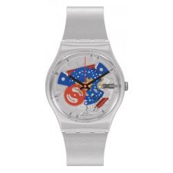 Orologio Swatch Gent Take Me To The Moon NASA GZ355