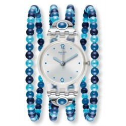 Orologio Donna Swatch Lady Blues Prohibition LK353