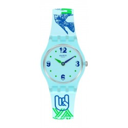 Orologio Donna Swatch Lady #Greentouche LN157