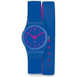 Orologio Donna Swatch Lady Biko Bloo LS115