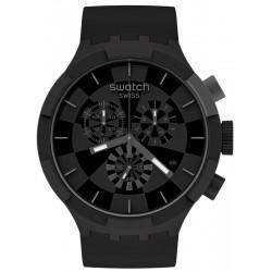 Acquistare Orologio Swatch Big Bold Chrono Checkpoint Black SB02B400