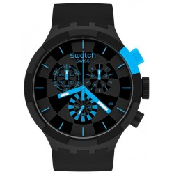 Acquistare Orologio Swatch Big Bold Chrono Checkpoint Blue SB02B401