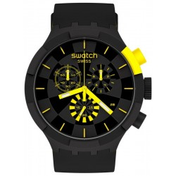 Acquistare Orologio Swatch Big Bold Chrono Checkpoint Yellow SB02B403