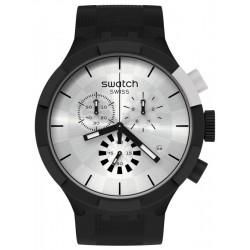 Orologio Swatch Big Bold Chrono Chequered Silver SB02B404