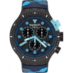 Orologio Swatch Big Bold Chrono Escapeocean SB02B408