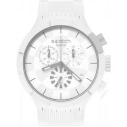 Orologio Swatch Big Bold Chrono Chequered White SB02W400