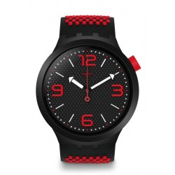 Orologio Uomo Swatch Big Bold BBBlood SO27B102
