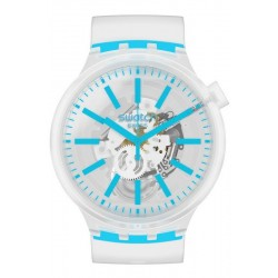 Orologio Swatch Big Bold Blueinjelly SO27E105
