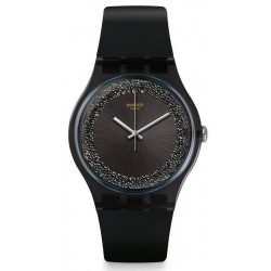 Orologio Donna Swatch New Gent Darksparkles SUOB156
