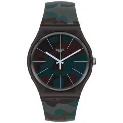 Orologio Unisex Swatch New Gent Camoucity SUOB175