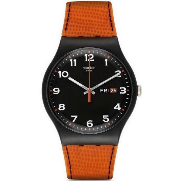 Acquistare Orologio Uomo Swatch New Gent Faux Fox SUOB709